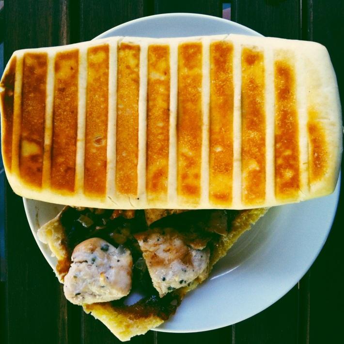 Humble Origins Chicken & Bacon Panini