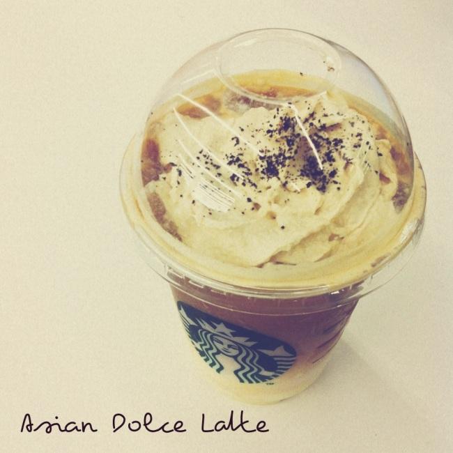 Starbucks Asian Dolce Latte