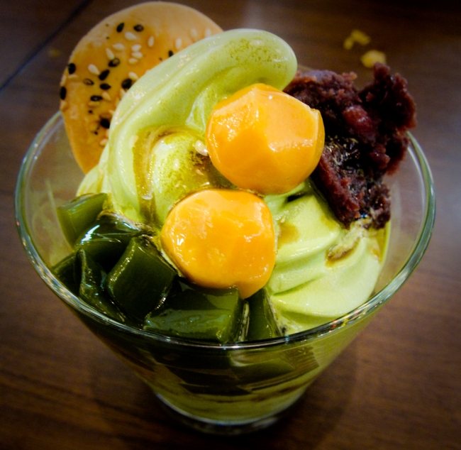 Hoshino Coffee Matcha Parfait
