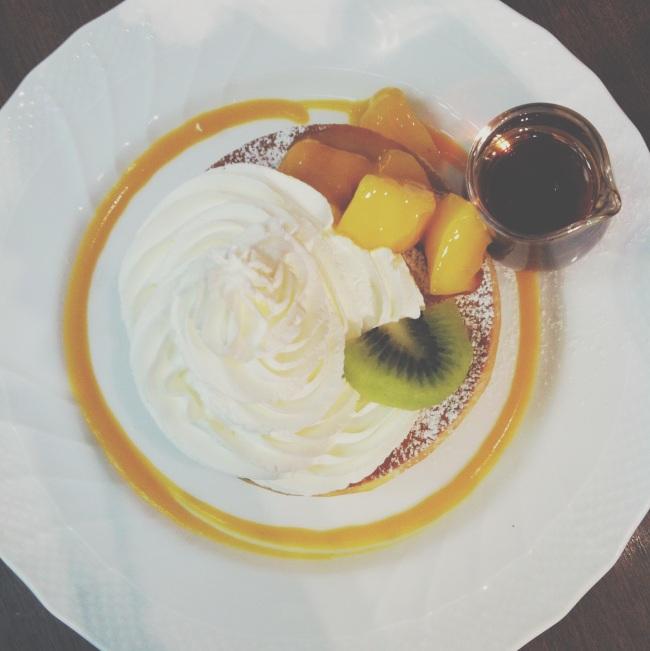 Hoshino Coffee Pancake Souffle Style