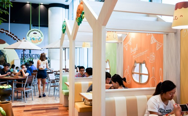 Pompompurin Cafe Singapore