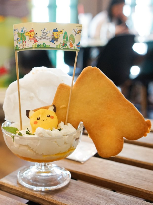 Pokemon Cafe Singapore Pop Up Thunder Shock Parfait