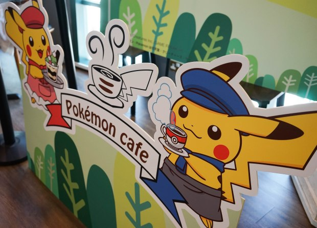 Pokemon Cafe Singapore Pop Up