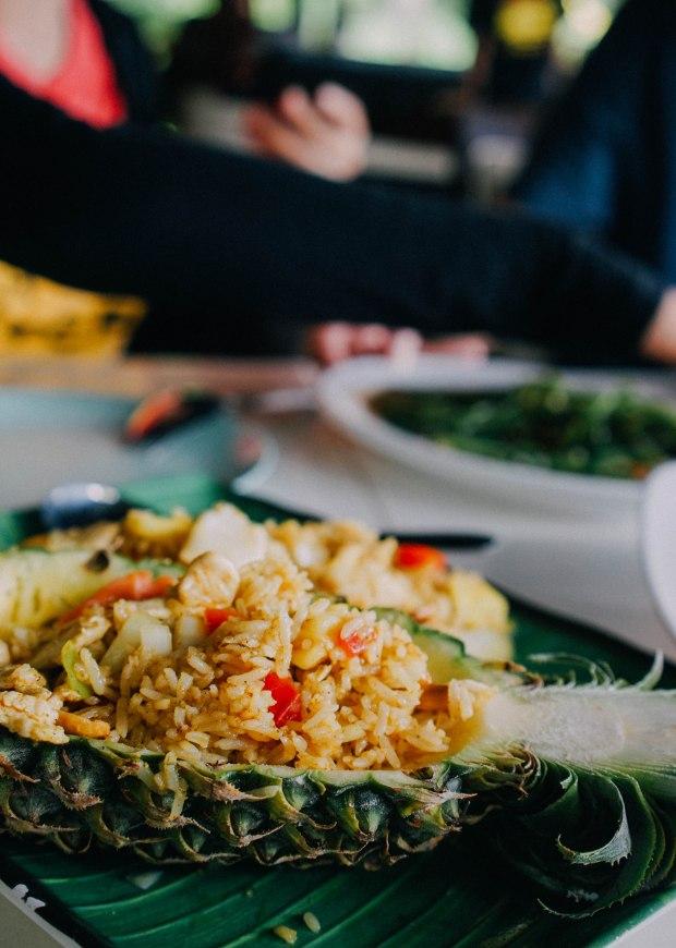 No. 6 Restaurant Patong Phuket Pineapple Fried Rice