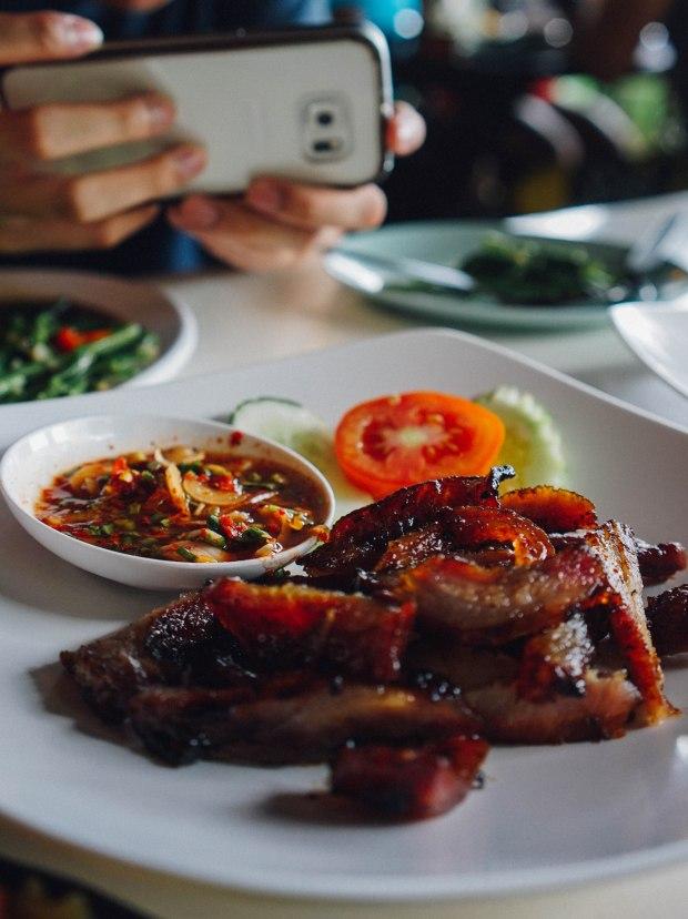 No. 6 Restaurant Patong Phuket Pork Neck