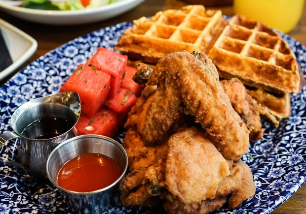 the-southern-bird-table-and-bar-chicken-and-watermelon-and-waffles-2