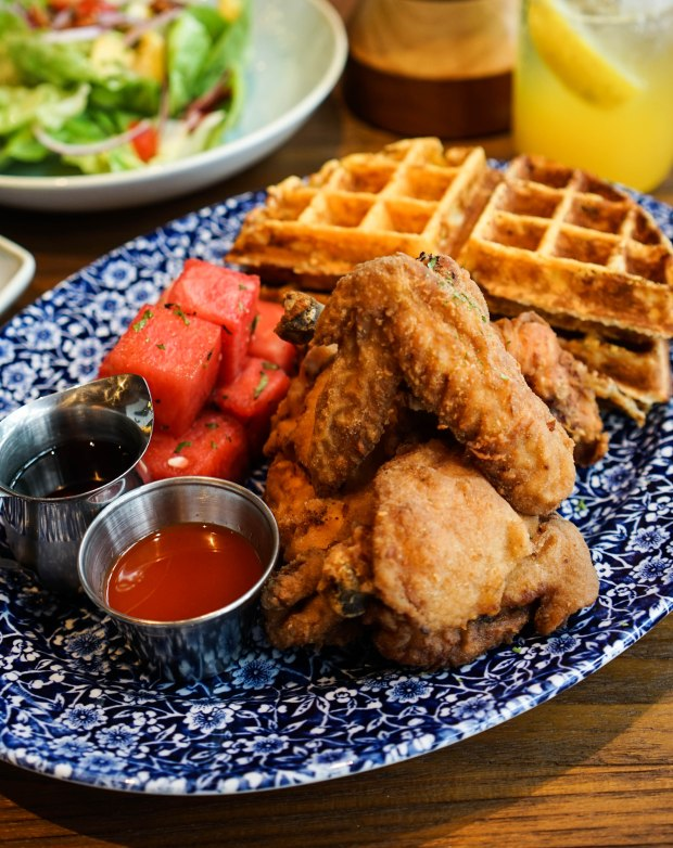 the-southern-bird-table-and-bar-chicken-and-watermelon-and-waffles