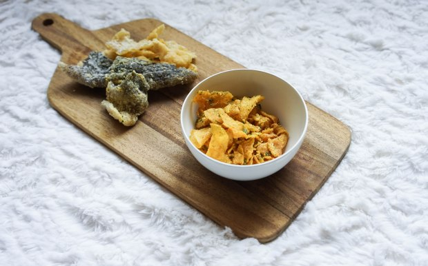 snacky and crisps