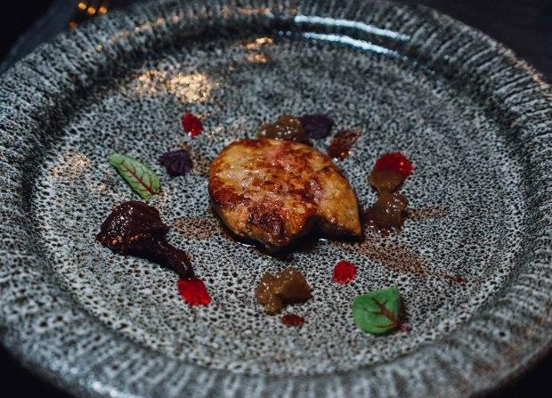 rizu-foie-gras-saute-with-plum-sauce