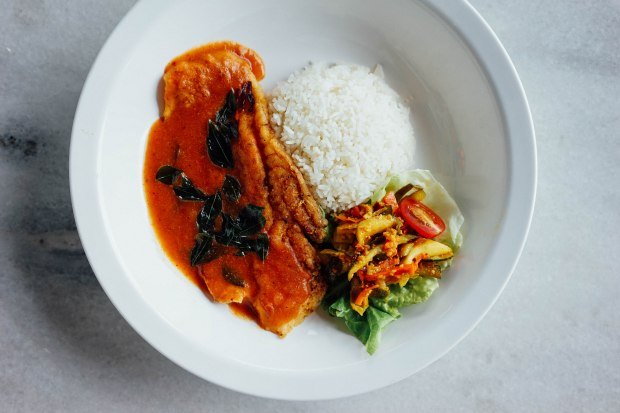 the-chop-chop-selections-chef-curry-rice-special-pan-seared-dory-fish