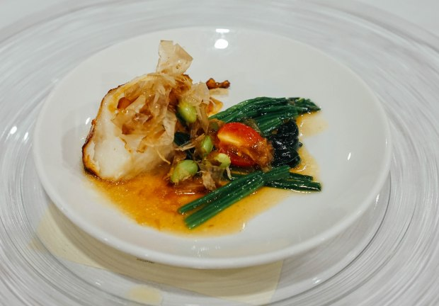amara-hotel-cny-2019-soy-baked-sea-perch-with-spinach-in-bonito-sauce