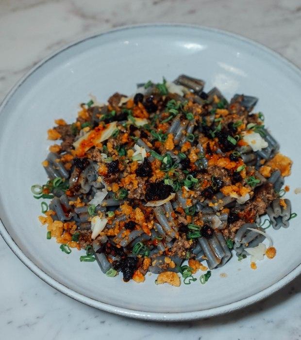 pasta-supremo-minced-black-bean-sausage-ragu