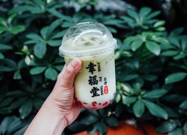 xing-fu-tang Matcha Boba Milk