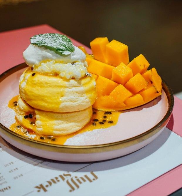fluff-stack-mango-passionfruit-souffle-pancakes