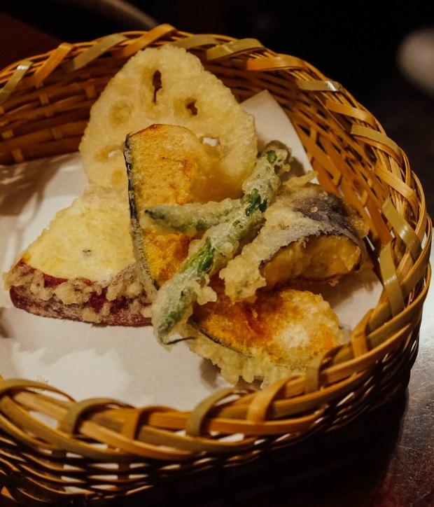 nanzenji-junsei-yudofu-hotpot-set-tempura