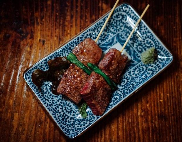 station-front-bar-okura-shiga-skewered-omi-beef