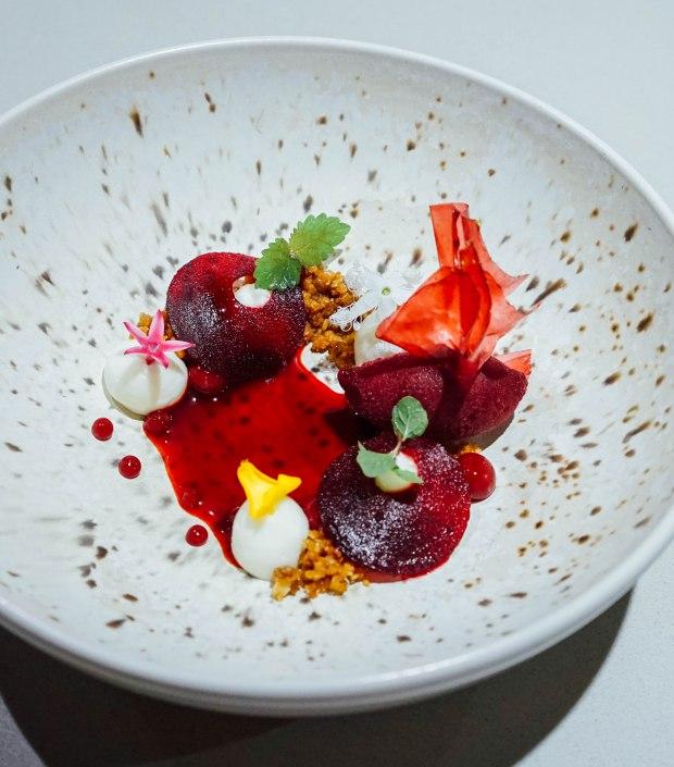 lerouy-Beetroot |Raspberry:Muscatel Wine Vinegar Orange Blossom Honey