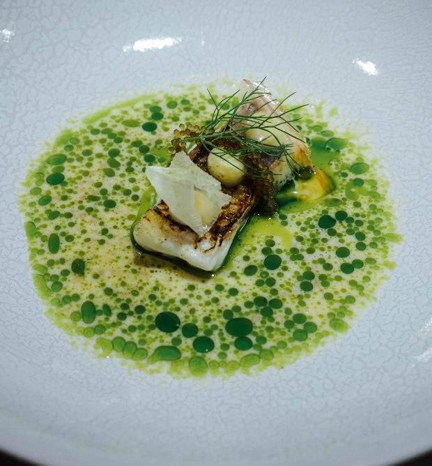 lerouy-Japanese Seabream : Mustard : Leek : Dill