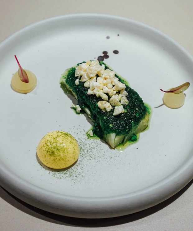 lerouy-Salt Baked Cabbage | Ancholade | Lardo | Lime