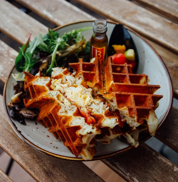 forage-cafe-smoked-salmon-and-eggs-grilled-waffle-sandwich